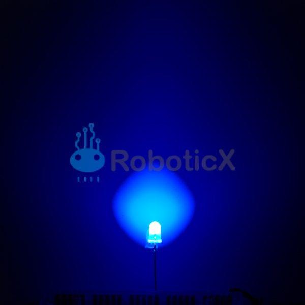 LED Blue 5mm-03