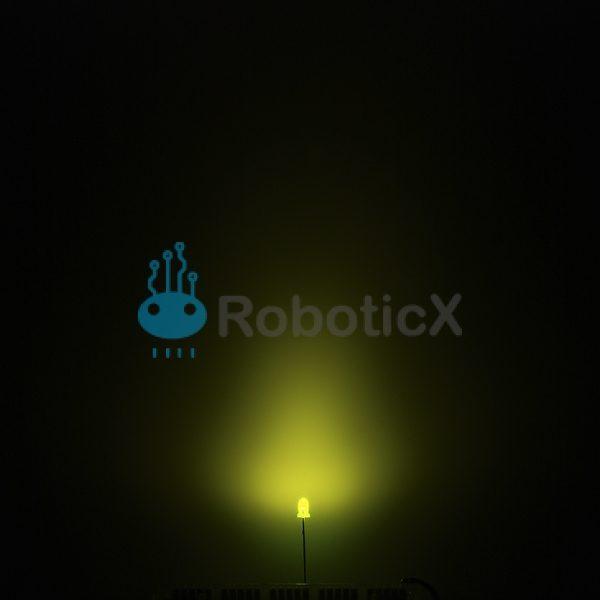 LED Green 3mm-03