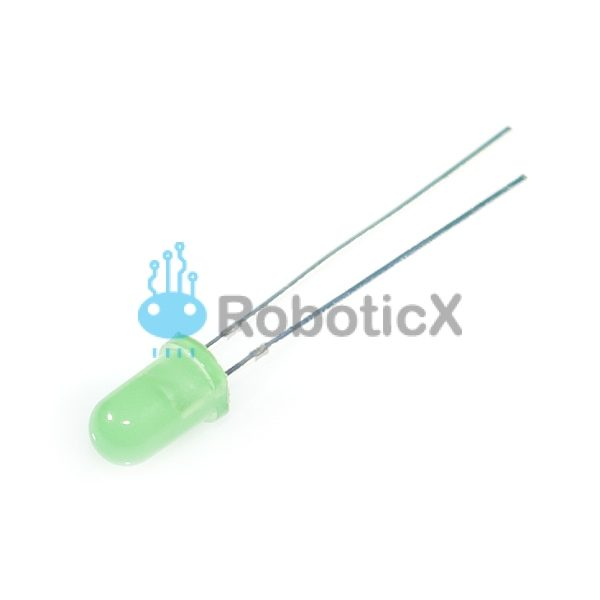 LED Green 5mm-01