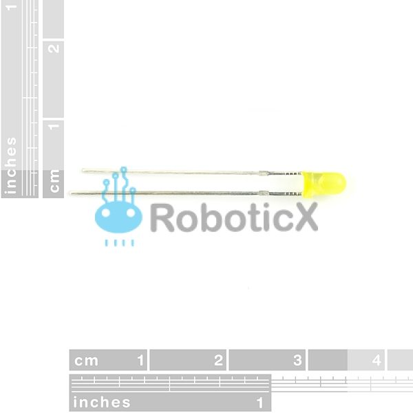 LED Yellow 3mm-02