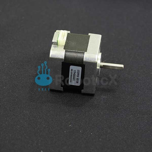 Stepper motor bipolar 17hs4401 roboticx for Stepper motor vs servo