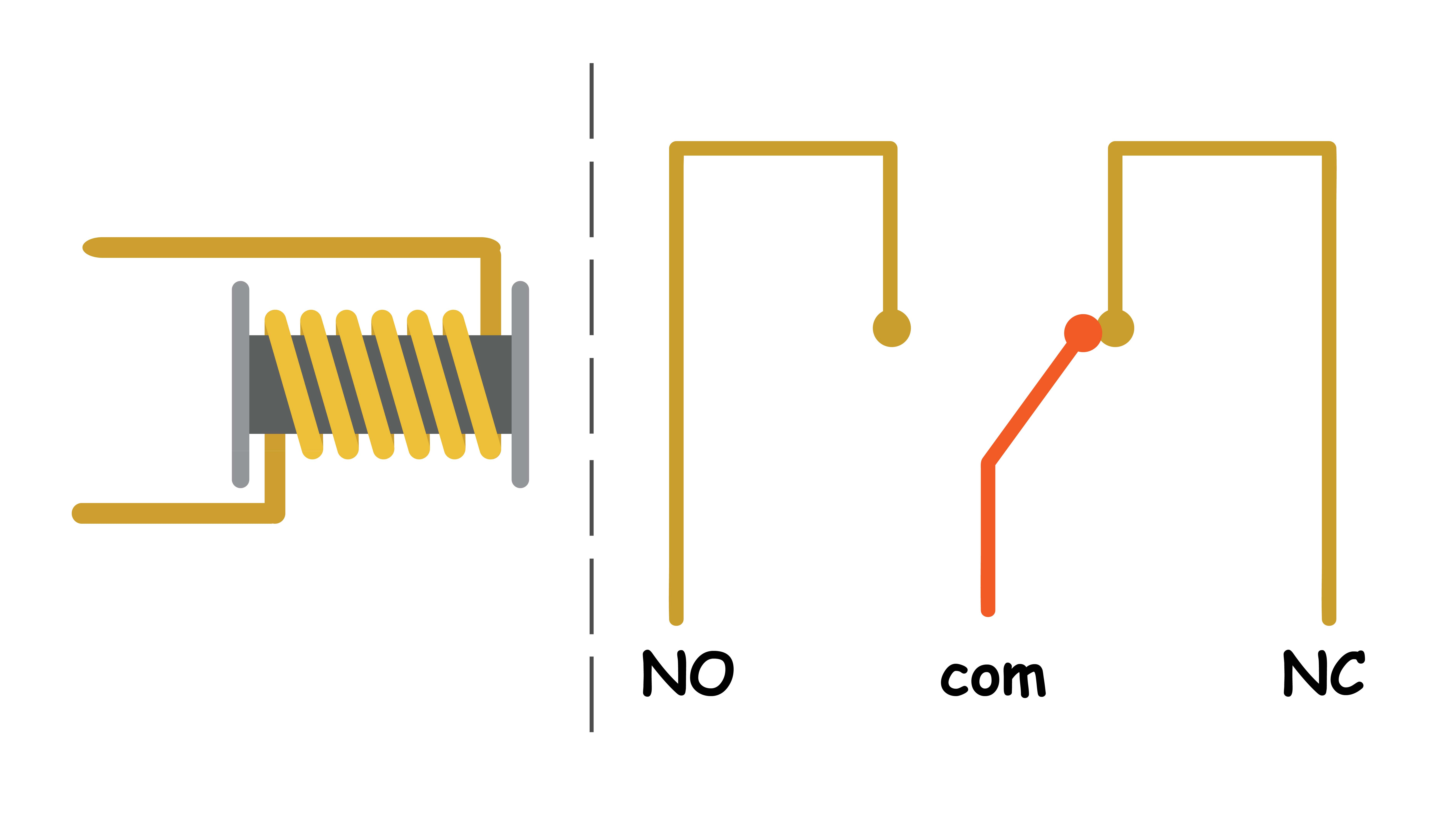 Relay Normal Open Roboticx Normally Diagram